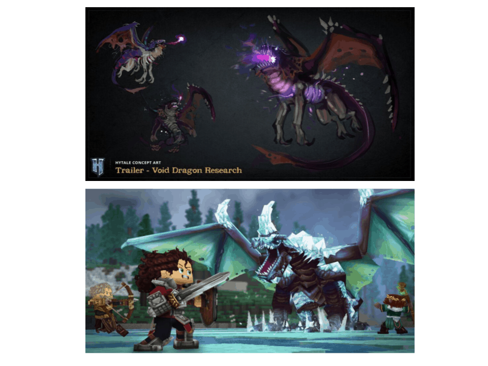 Dragones Hytale