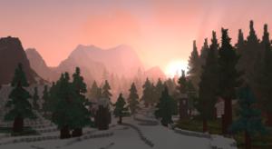 Bosque de pinos Borea