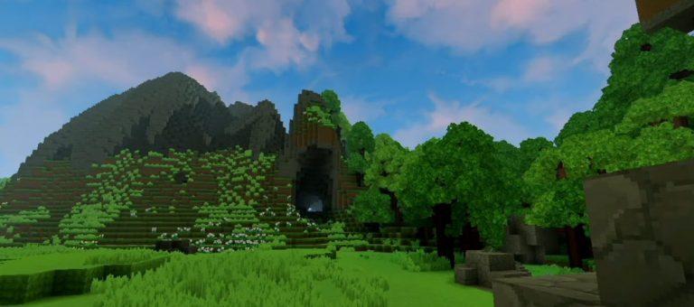 Montañas bosque esmeralda