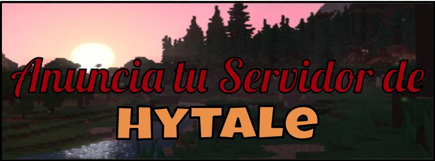 Publicidad servidor de Hytale