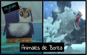 animales de Borea Hytale