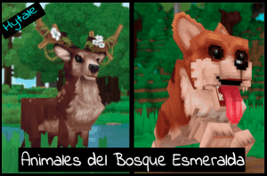 animales de Hytale en la zona 1 Bosque esmeralda