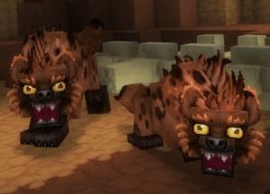 hiena mob animal de Hytale