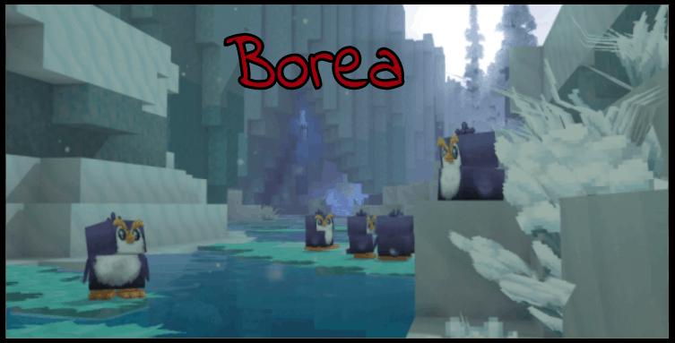 los animales de Borea