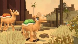 mob camello de Hytale